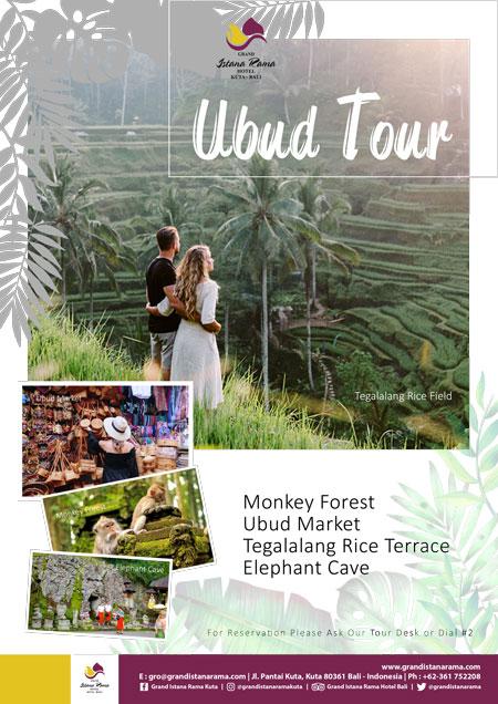 Grand Istana Rama Hotel-Transportation Promo-Tour Ubud