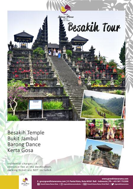 Grand Istana Rama Hotel-Transportation Promo-Tour Besakih