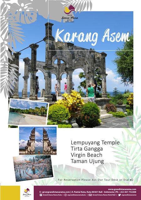 Grand Istana Rama Hotel-Transportation Promo-Tour Karangasem
