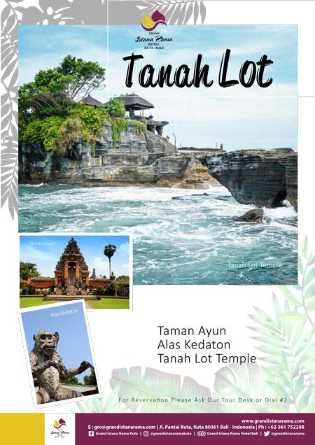 Grand Istana Rama Hotel-Transportation Promo-Tour Tanah Lot