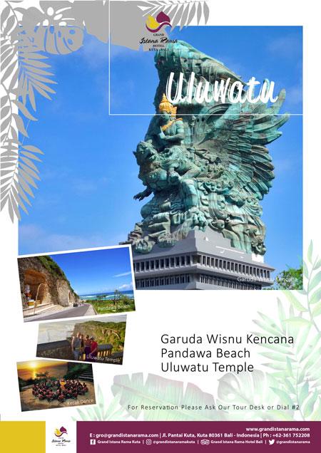 Grand Istana Rama Hotel-Transportation Promo-Tour Uluwatu
