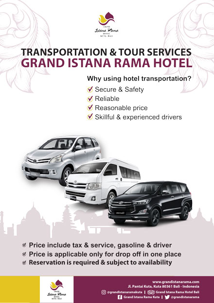 Grand Istana Rama Hotel-Transportation Promo