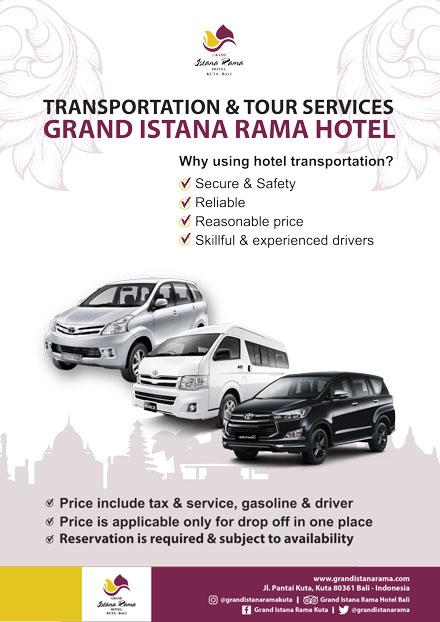 Grand Istana Rama Hotel-Transportation Promo