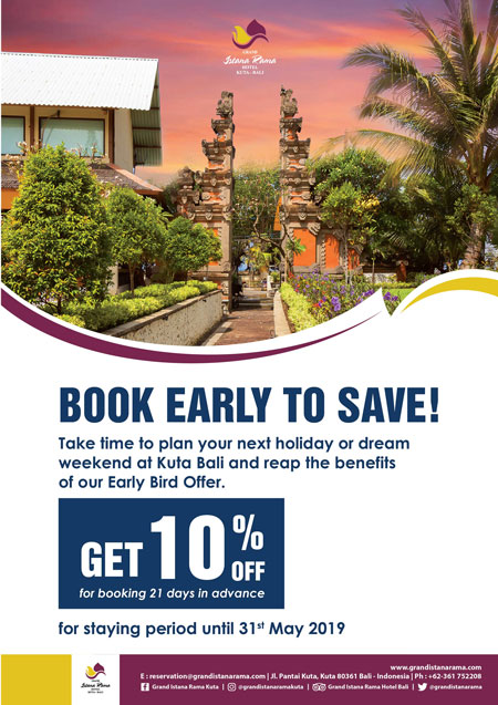 Grand Istana Rama Hotel-Early Bird Promo