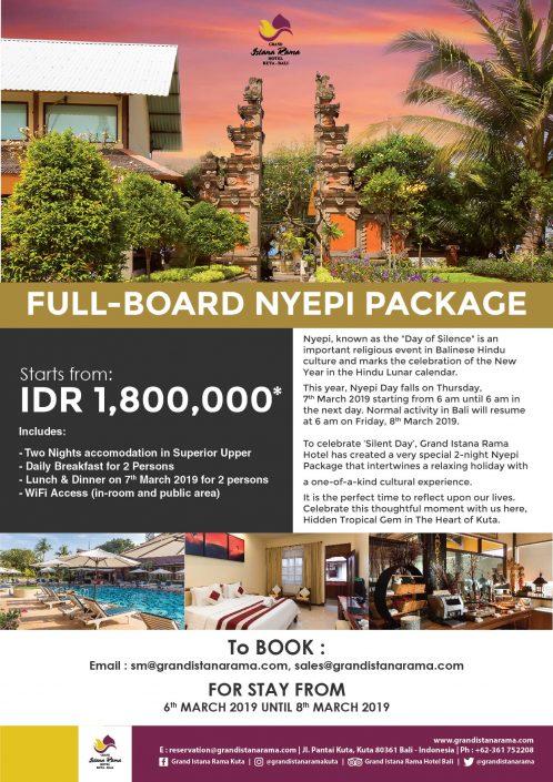 Grand Istana Rama-Package 2019