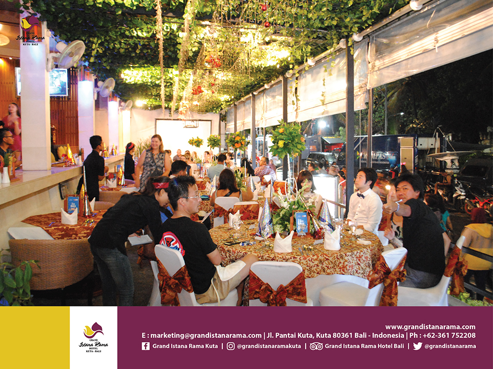 Grand Istana Rama Hotel New Year's Eve Party
